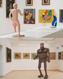 אוסף המוזיאון , אורי קצנשטיין , שי עיד - אלוני , אמנות , דיוקן