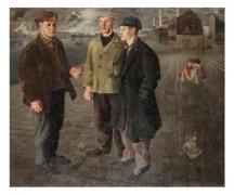 מירון סימה 1999-1902  6.2 מיליון מובטלים, 1932  שמן על בד אוסף המשכן לאמנות עין