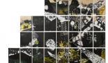תמר רודד שבתאי, Self Created City, 2012, דיו ואקריליק על דיקט, צילום: טל ניסים