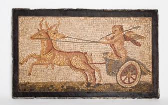 פסיפס ארוס מהעיר ג'רש (ירדן), העתק, תאריך לא ידוע, אוסף המוזיאון הימי הלאומי