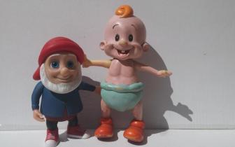 אוסף בובות פלסטיק, שנות ה-50-ה-90, אוסף נעמי מייברגר, חדרה
