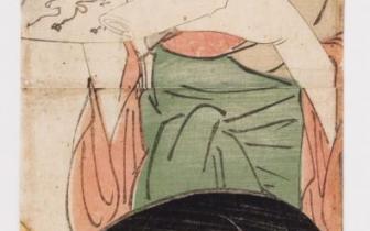 הקורטיזנות (אויראן) שיזוקה ומאטוקה מבית טאמיה - מיוחס לקיטאגאווה אוטאמרו (1753-1